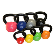 Troy VTX Vinyl Covered Kettlebell Set
