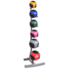 Troy Weighted Fitness Ball Storage Rack