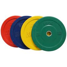Troy VTX Solid Rubber Bumper Plates