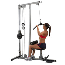 Body Solid Plate Load Lat Pull Down