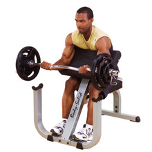 Body Solid Workout Preacher Curl Bench