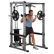 Body Solid Pro Power Cage with Lat Option
