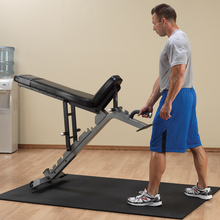 Body Solid Weightlifting Bench with Wheels