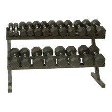 Troy VTX Dumbbell Set with Rack
