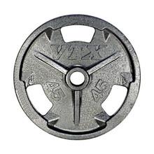 45 lb. Troy VTX Cast Iron Grip Plate