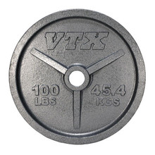 100 lb. Troy VTX Olympic Weight Plate
