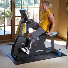 SuperMats Commercial Recumbent Fitness Bike Mat