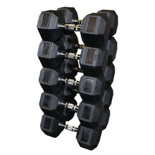 Body Solid Rubberized Dumbbells - SDRS