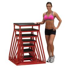 Body Solid Steel Plyo Box Set