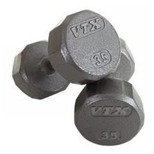 Troy Barbell VTX 12-Sided Cast Iron Dumbbells - SD-V