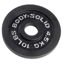 10 lb. Body Solid Commercial Weight Plate