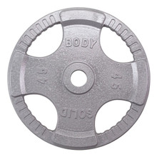 45 lb Body Solid Steel Grip Plate