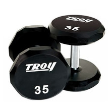 Troy Urethane Covered 12-Sided Dumbbells - TSD-U
