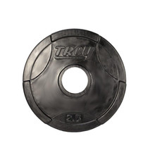 2.5 lb. Troy Barbell Rubber Weight Lifting Plate