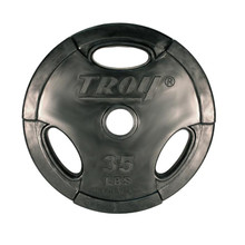 35 lb. Troy Rubber Encased Grip Plate