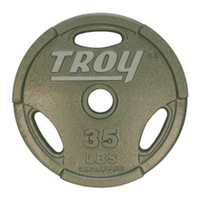 35 lb. Troy Interlocking Olympic Plate