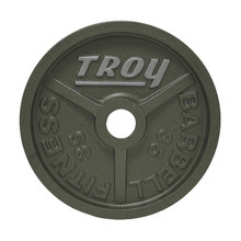 35 lb. Troy Commercial Weight Plate