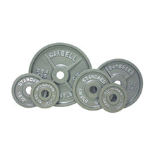Troy USA Sports Standard Gray Olympic Weights