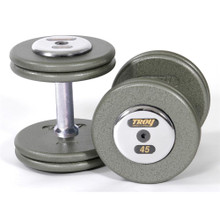 Troy Barbell HFD Pro Style Weights with Chrome End Caps
