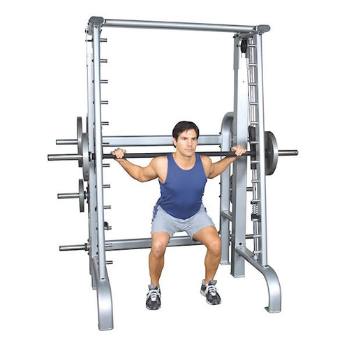Inflight-Fitness Counterbalanced Smith Barbell Press Machine