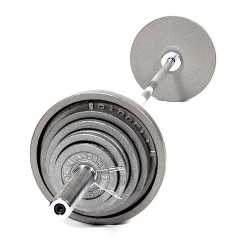 USA Sports Cast Iron Olympic Weight Set with Bar