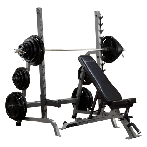 Body Solid Rack/Bench Combo