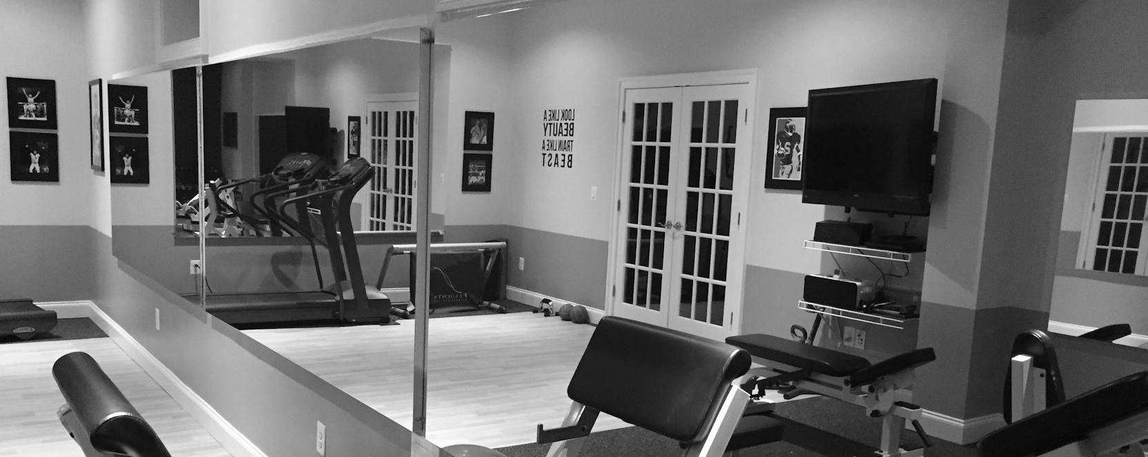 Glassless Gym Mirrors