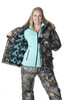 Kylie 3-in-1 Convertible Hunting Jacket - Realtree Xtra