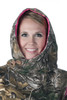 DSG Hunting Side Button Hoodie in Realtree Xtra/Pink-Close Up