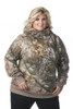 DSG Hunting Side Button Hoodie in Realtree Xtra/Pink-Plus Sizes
