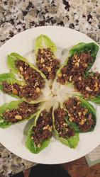 Venison Thai Lettuce Wraps