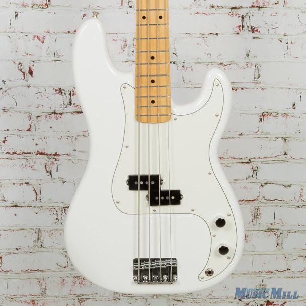 2018 Fender Player Series Precision Bass - Polar White w/ Maple Fingerboard