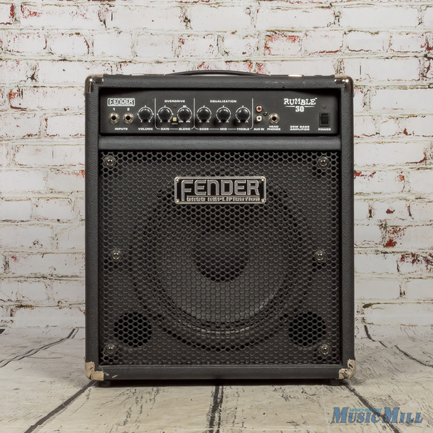 Fender Rumble 30 30W 1x10 Bass Combo Amp USED