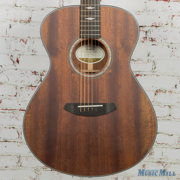 Breedlove Limited Stage Concert E Mahogany Acoustic Electric Guitar 0752