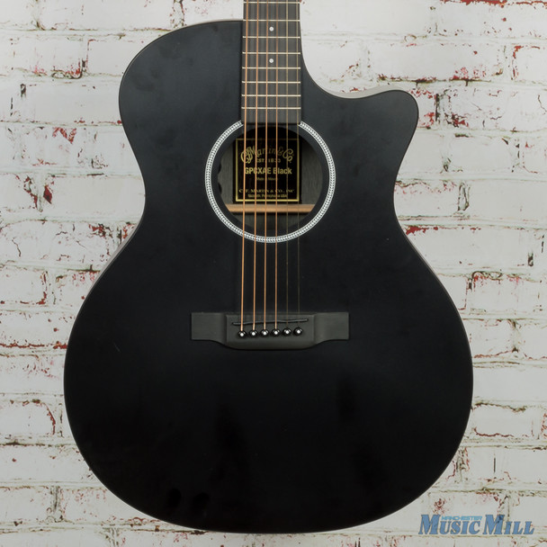 Martin GPCXAE Acoustic Electric Guitar Black