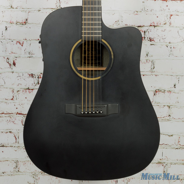Martin DCXE X Series Acoustic/Electric Black (USED)