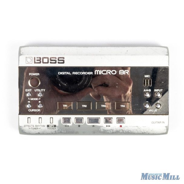 Boss Micro BR‑80 Portable Digital Recorder USED
