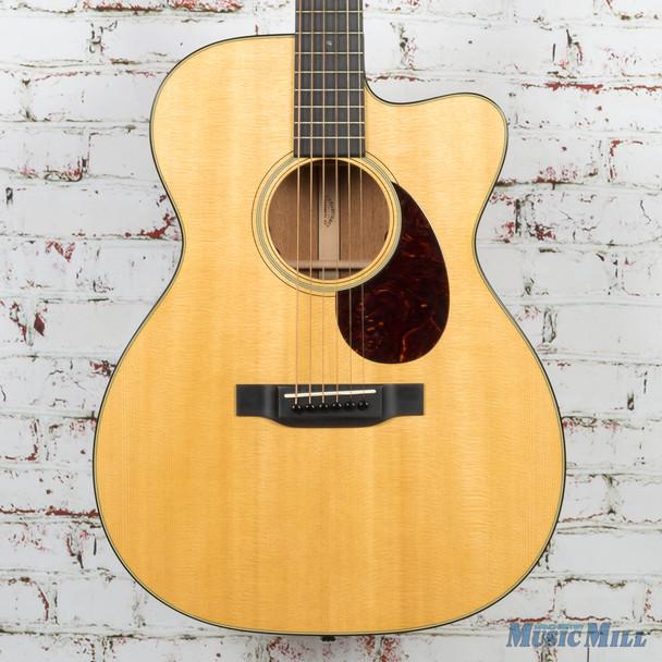 Martin OMC18E Acoustic Electric Guitar Natural Demo