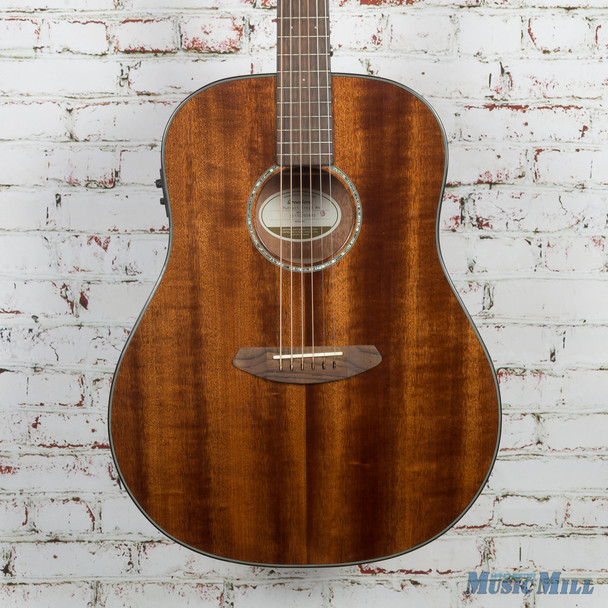 B-Stock Breedlove Pursuit Dreadnought Mahogany Acoustic Electric Guitar