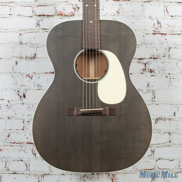 Martin Custom Shop 00017E Black Smoke Acoustic Electric Guitar Torrified Top
