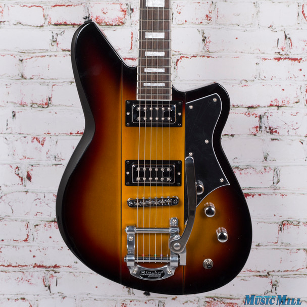 Reverend Warhawk RT Electric Guitar 3 Tone Sunburst