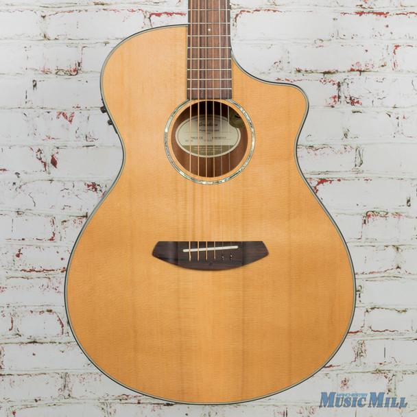 New Breedlove Pursuit Concert CE Acoustic Guitar Cedar / Mahogany