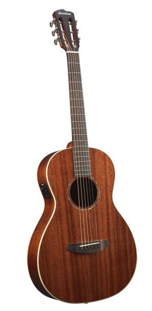 New Breedlove Pursuit Parlor E Acoustic Guitar Mahogany