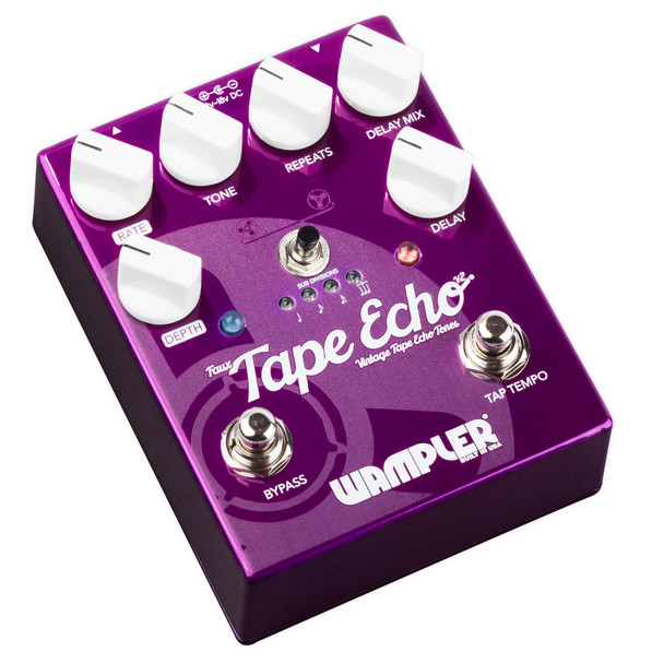 Wampler Faux Tape Echo Delay Pedal V2