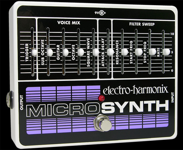 Electro Harmonix Micro Synth Analog Guitar Synth Pedal