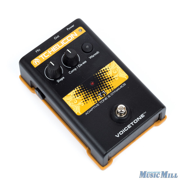 TC-Helicon VoiceTone T1  Vocal Tone and Dynamics Effect Pedal