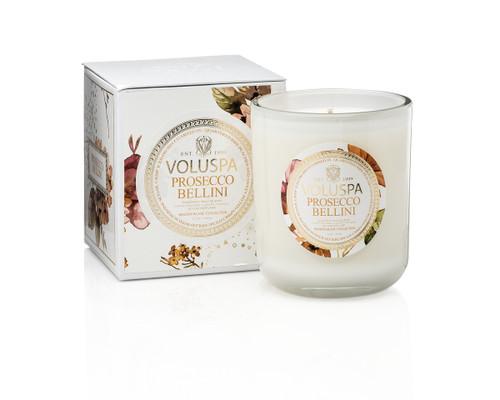 Voluspa Prosecco Bellini Classic Maison Boxed Candle