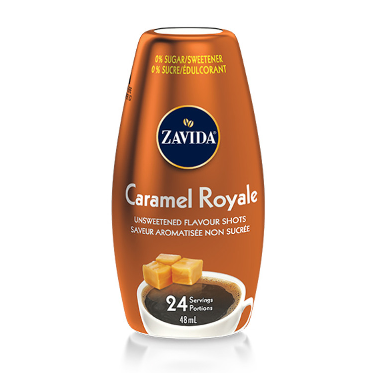Caramel Royale Flavour Shots To Go