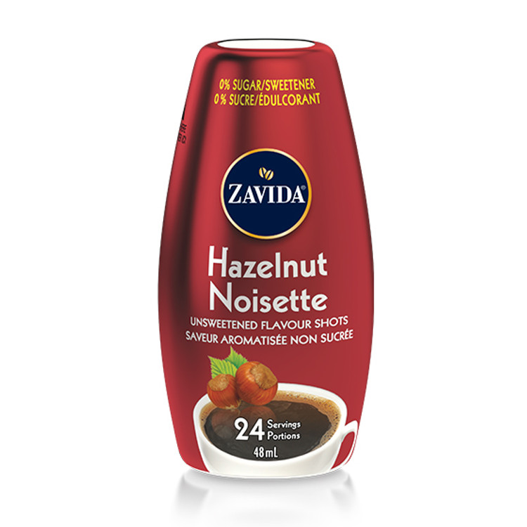 Hazelnut Flavour Shots To Go