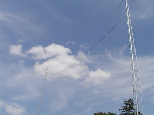 Cage dipole tower